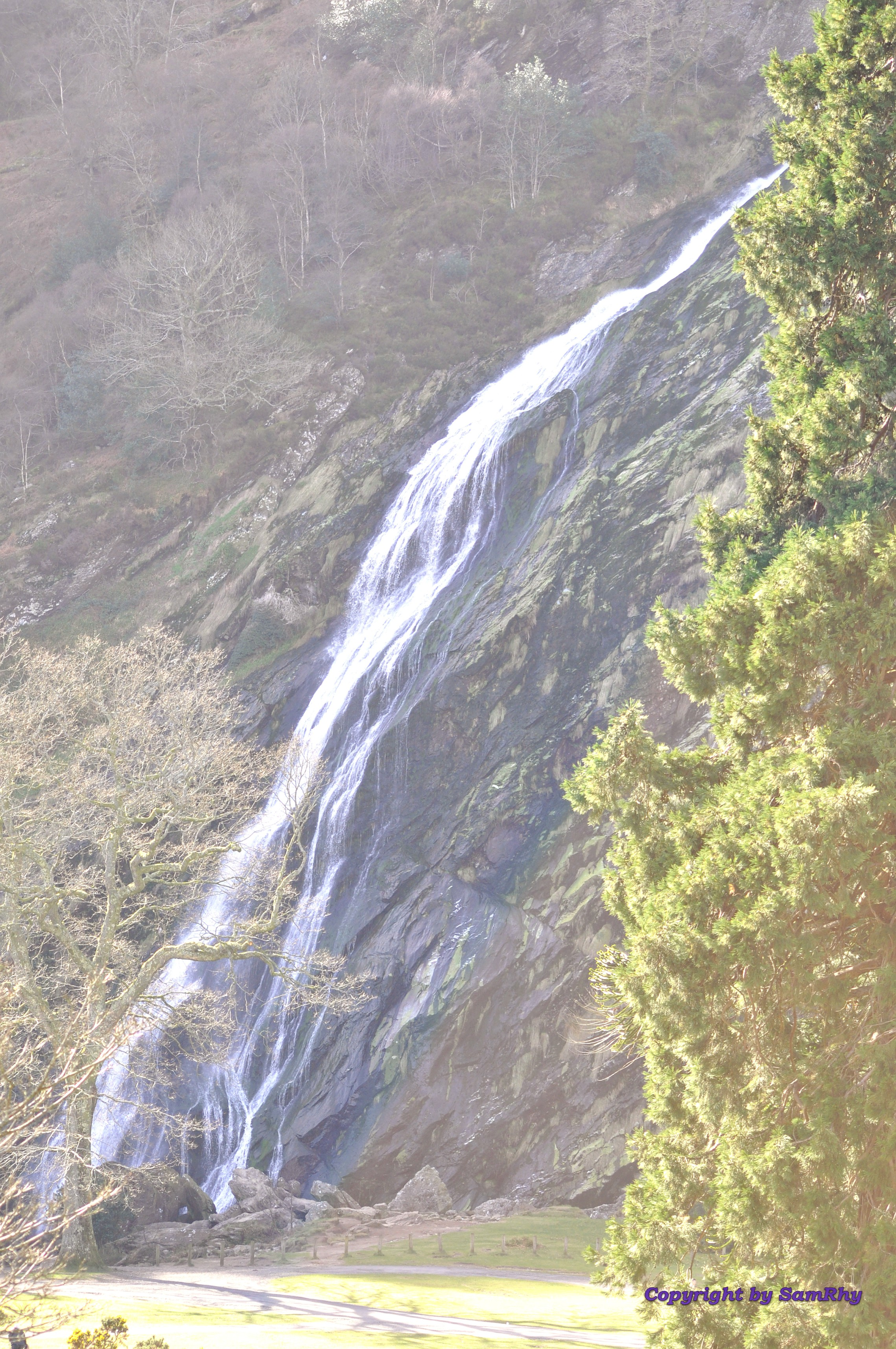 Powerscourt Waterfall.
